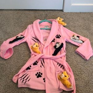 Chasing Fireflies Crazy Car Lady Robe